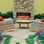 BI-40-Deep Electric Fireplace