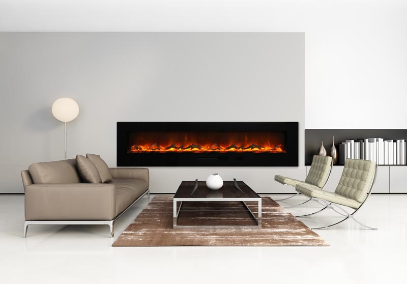 WMBI-88 electric fireplace