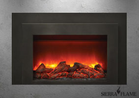 Electric fireplace insert INS-FM-30
