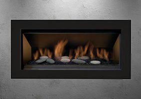 The Bennett gas fireplace