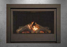 Sierra Flames gas fireplace - The Thompson