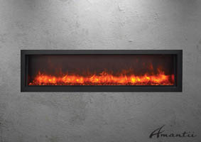Electric Fireplace - BI-60-SLIM