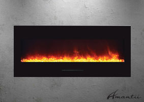 ELECLTRIC FIREPLACE BY AMANTII