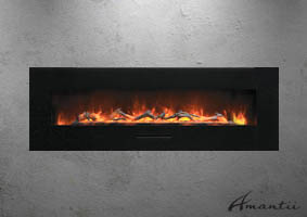 WM-FM-60 electric fireplace