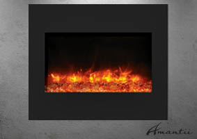 ZECL-BG-30- Amantii zero clearance electric fireplace