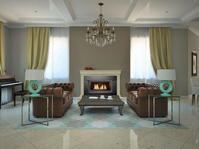 Newcomb gas fireplace