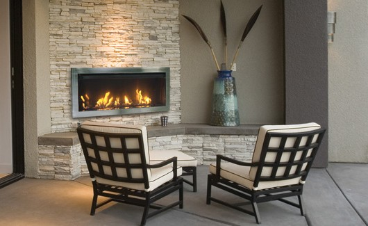 Outdoor-Tahoe 45-Linear-Gas Fireplace
