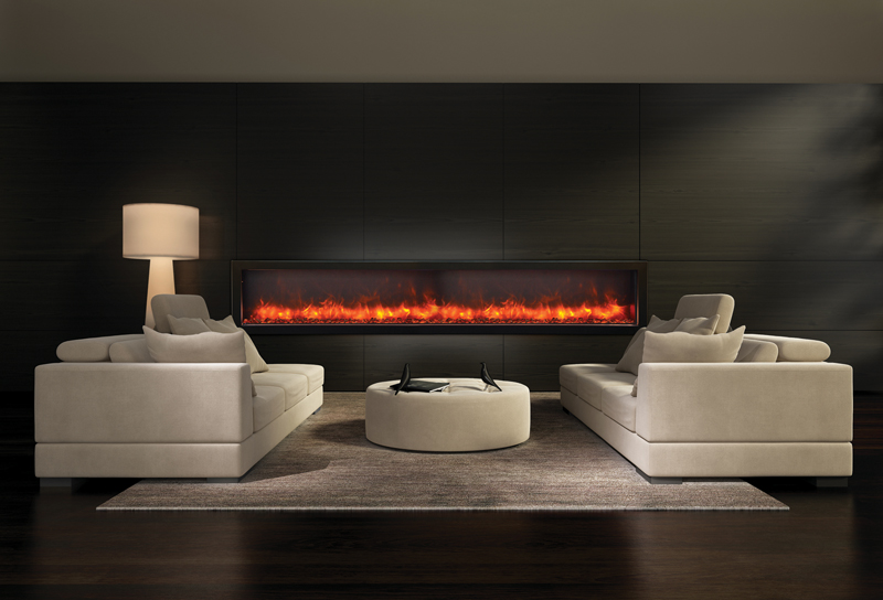 BI-88-Deep electric fireplace