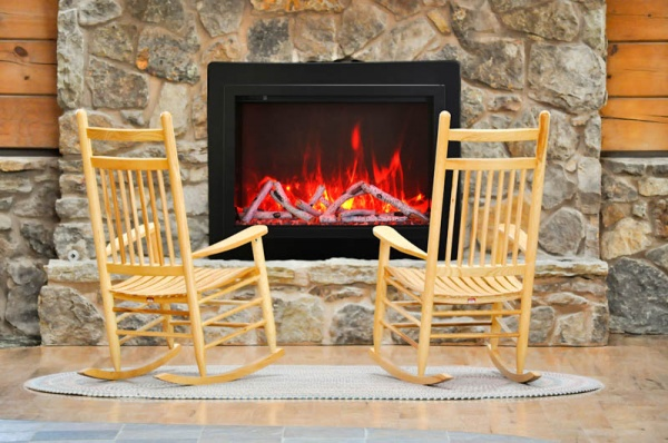 Chairs by the Hearth
