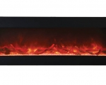 TruView - 72 XL 3 sided electric fireplace