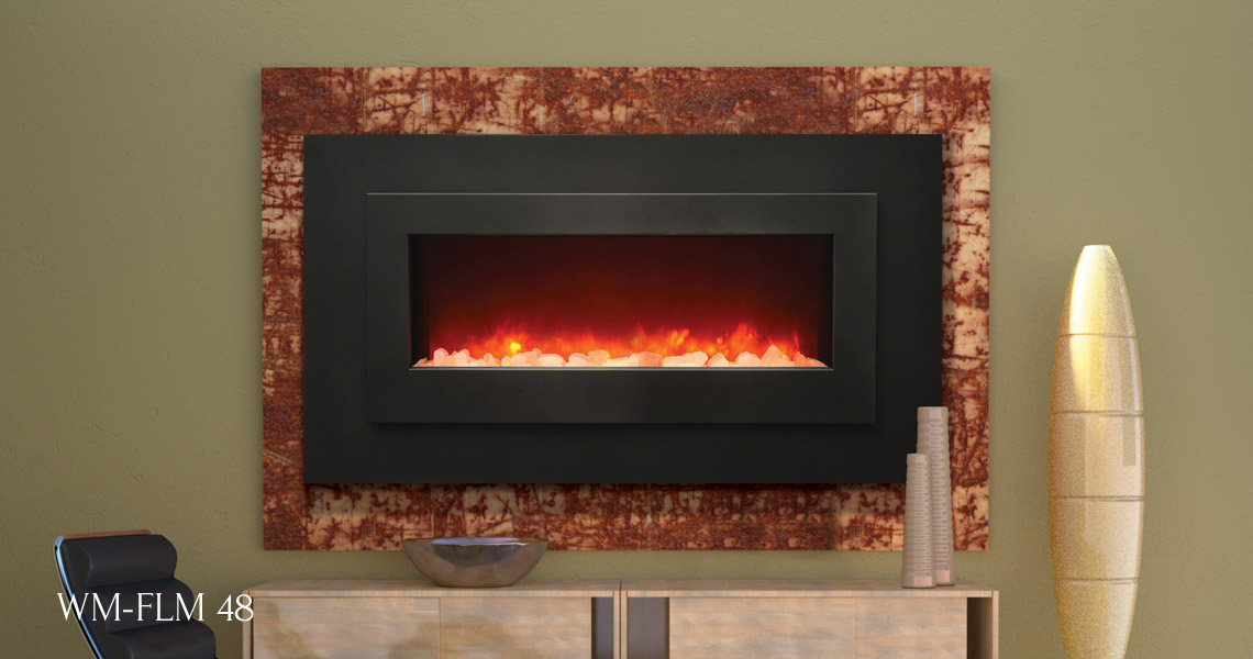 Fireplace Design linear fireplaces : Electric Fireplces - Linear Series - Sierra Flame