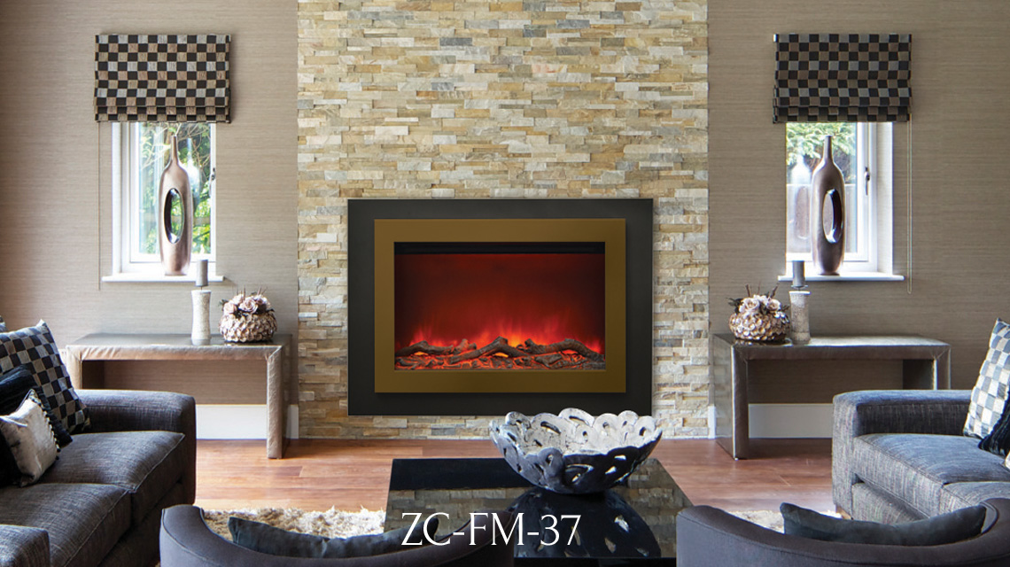linear WM-FML-85 electric fireplaces