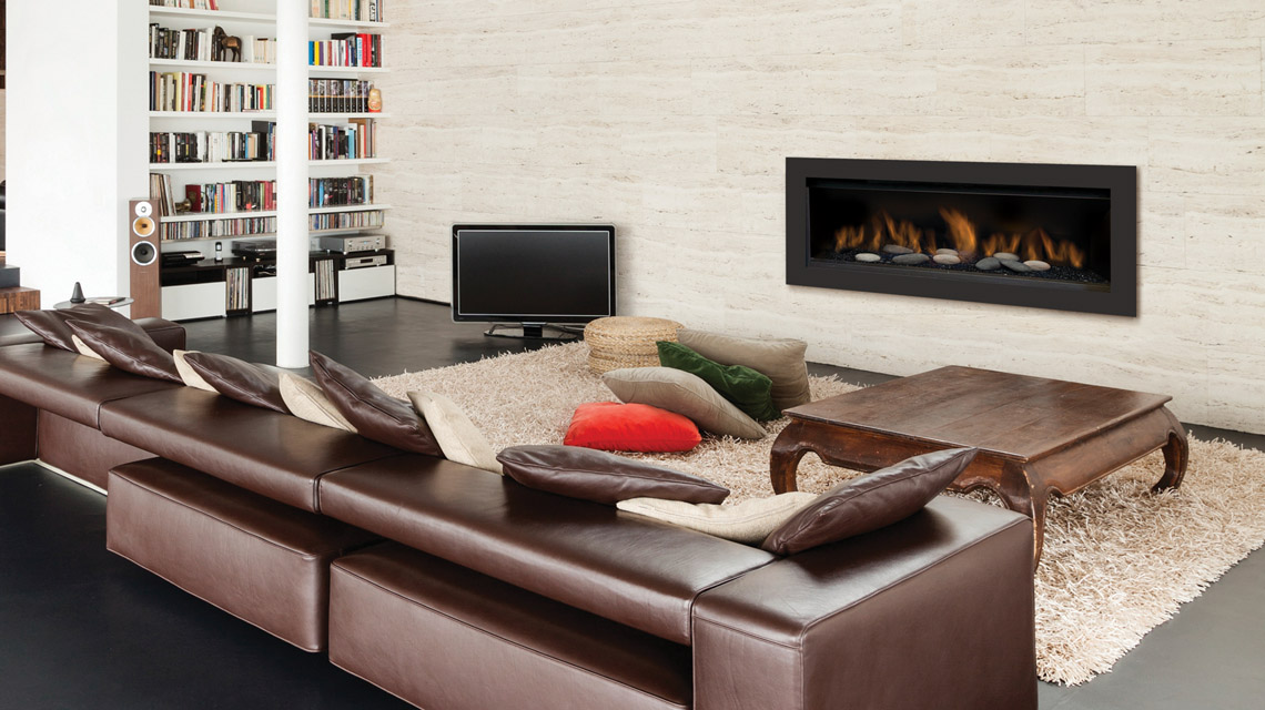 Sierra Flame Austin gas fireplace