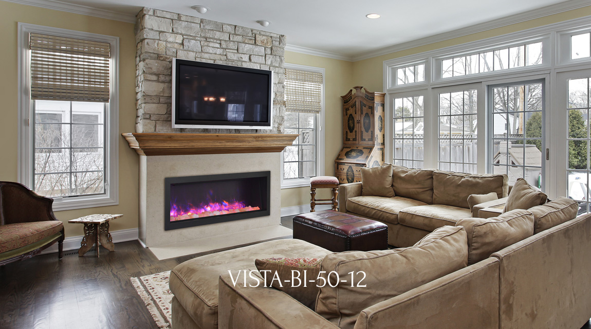 Vista BI-50-12 fireplace