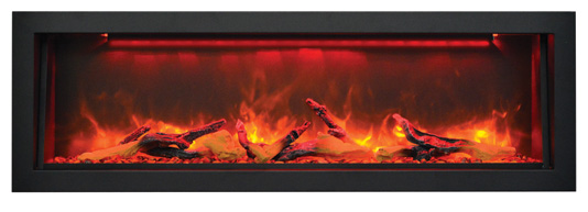 Electric Fireplace - Heat - Vista