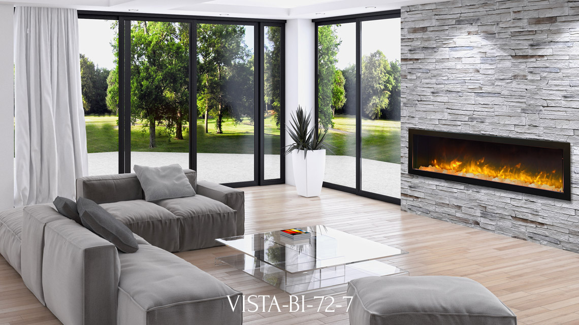 Sierra Flame fireplace