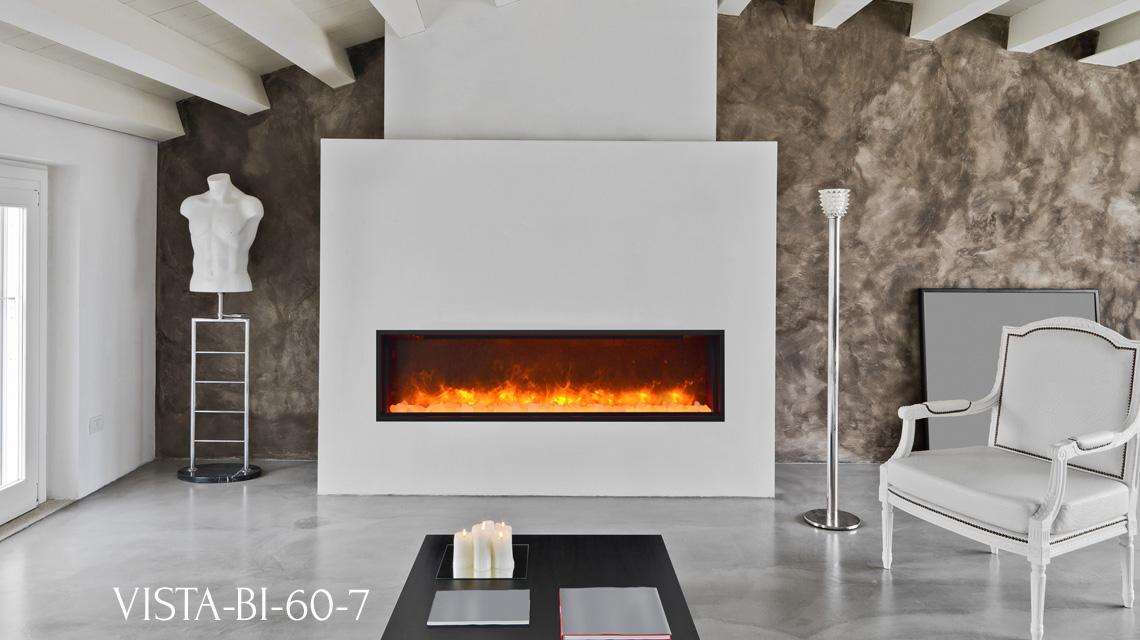 Vista Bi 60 7 Electric Fireplace Sierra Flame