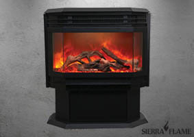 Sierra Flame Free Stand electric fireplace