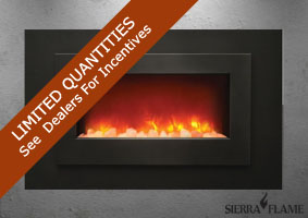 Sierra Flame electric fireplace