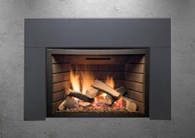 Abbot gas fireplace