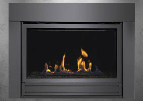 Bradley gas fireplace by Sierra Flame