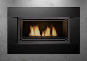 Sierra Flames gas fireplace - Langley