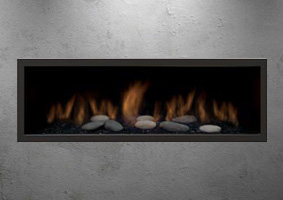 Sierra Flames gas fireplace