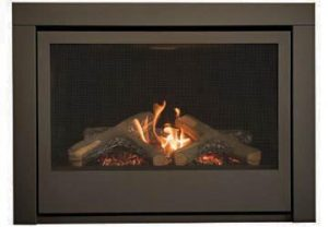 Thompson gas fireplace by Sierra Flames