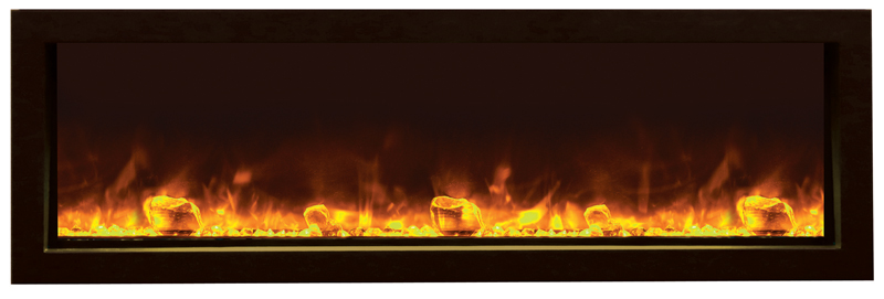 BI-SLIM-50 Electric Fireplace
