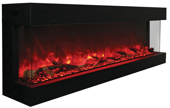 Tru-View-XL-72 3 sided electric fireplace