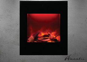 Amantii WM-BI-2428-VLR Electric Fireplace