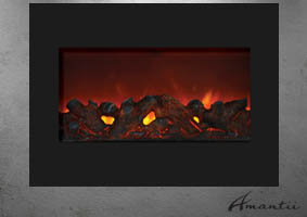 Amantii ZECL-FM-30 electric fireplace Zero Clearance