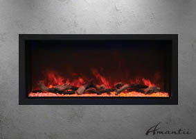 Amantii BI-50-DEEP-XT electric fireplace