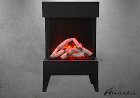 Amantii Cube electric fireplace