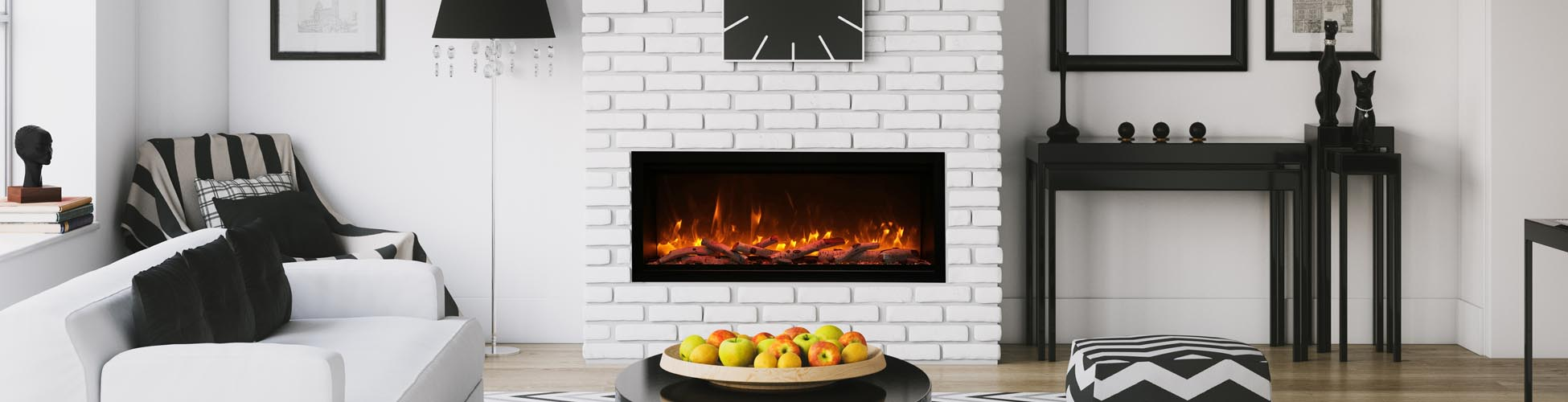 electric fireplaces by Amantii