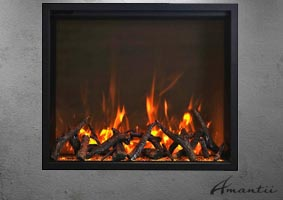 TRD-48 electric fireplace