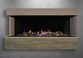 Toscana gas fireplace